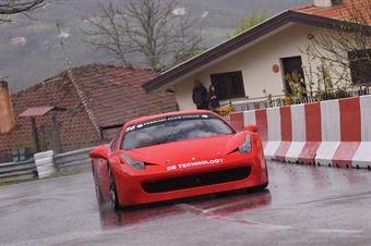 Vincenzo Giibino (Ferrari 458 Challenge  #56), CAMPIONATO ITALIANO VELOCITÀ MONTAGNA