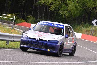 Giuseppe Eldino (Progetto Corsa, Peugeot 106 #83), CAMPIONATO ITALIANO VELOCITÀ MONTAGNA