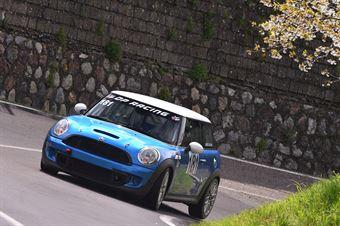 Mario Tacchini (Speed Motor, Mini Cooper S JCW #181), CAMPIONATO ITALIANO VELOCITÀ MONTAGNA