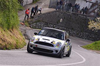 Serafino Ghizzoni (Global Sport Incentive, Mini Cooper S JCW #142), CAMPIONATO ITALIANO VELOCITÀ MONTAGNA