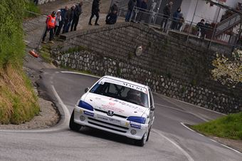 Calderone Marco (Peugeot 106 Rally 16v, #95), CAMPIONATO ITALIANO VELOCITÀ MONTAGNA