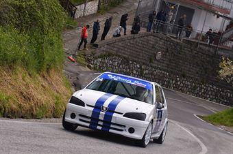 Alfio Guarrera ( Giarre Corse, Peugeot 106 #94), CAMPIONATO ITALIANO VELOCITÀ MONTAGNA