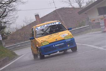Domenico Marchio ( Fiat Cinquecento Trofeo #118), CAMPIONATO ITALIANO VELOCITÀ MONTAGNA