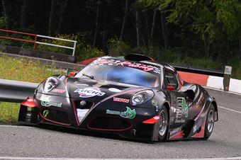 Alessandro Gabrielli (Gr. Sport. A.C. Ascoli P., Picchio Alfa Romeo 4C #48), CAMPIONATO ITALIANO VELOCITÀ MONTAGNA