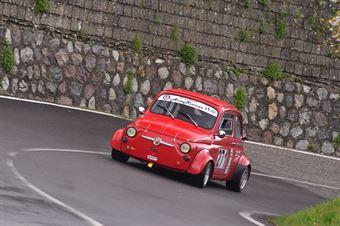 Luigi Fata (Cosenza corse, Fiat 500 #271), CAMPIONATO ITALIANO VELOCITÀ MONTAGNA