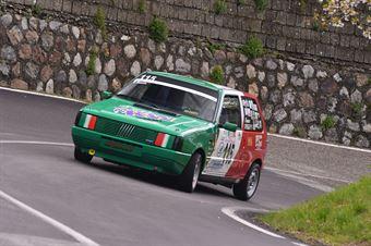 Crocco Francesco (Cosenza Corse, Fiat Uno 55 S #115), CAMPIONATO ITALIANO VELOCITÀ MONTAGNA