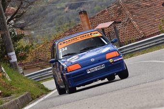 Domenico Fusto (New Generation Racing, Fiat Cinquecento #234), CAMPIONATO ITALIANO VELOCITÀ MONTAGNA