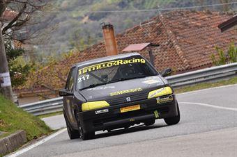 Mike D'Acri ( Kronoracing, Peugeot 106 R #217), CAMPIONATO ITALIANO VELOCITÀ MONTAGNA