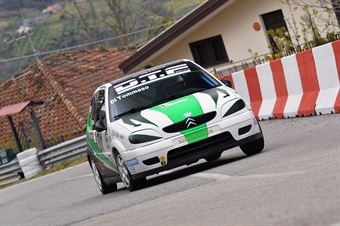 Francesco Di Tommaso (Global Sport Incentive, Citroen Saxo #201), CAMPIONATO ITALIANO VELOCITÀ MONTAGNA