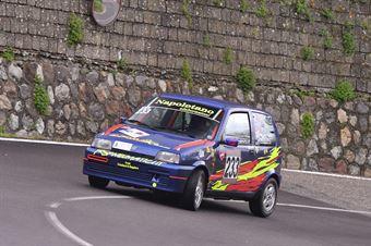 Cataldo Trisciuzzi (Apulia Corse, Fiat Cinquecento #233), CAMPIONATO ITALIANO VELOCITÀ MONTAGNA