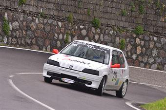Cerva Luigi(New Generation racing, Peugeot 106 R #216), CAMPIONATO ITALIANO VELOCITÀ MONTAGNA