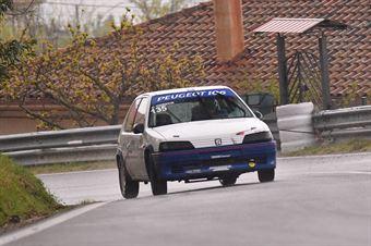 Roberdo D'Amanda (Tirreno Motorsport, Peugeot 106 #135), CAMPIONATO ITALIANO VELOCITÀ MONTAGNA
