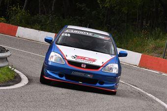 Antonio Cardone (SCS Motorsport, Honda Civic Type R # 146), CAMPIONATO ITALIANO VELOCITÀ MONTAGNA