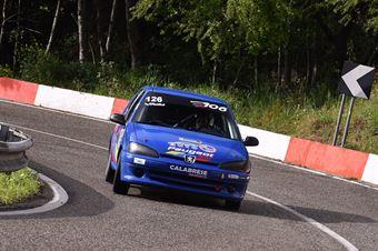 De Luca Antonio (Cosenza Corse, Peugeot 106 1.6s #126), CAMPIONATO ITALIANO VELOCITÀ MONTAGNA