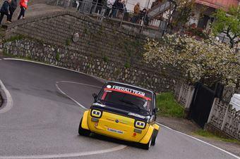 Franco Catavero ( Fiat 126, Cosenza Corse #258), CAMPIONATO ITALIANO VELOCITÀ MONTAGNA