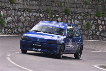 Davide Ignaccolo (Peugeot 106 #134), CAMPIONATO ITALIANO VELOCITÀ MONTAGNA