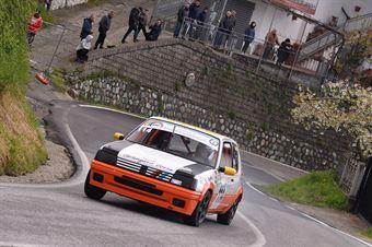 Narciso Alfredo (Peugeot 205 R #147), CAMPIONATO ITALIANO VELOCITÀ MONTAGNA