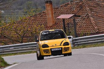 Pasquale Gigliotti ( New Generation Racing, Fiat 600 SP #232), CAMPIONATO ITALIANO VELOCITÀ MONTAGNA