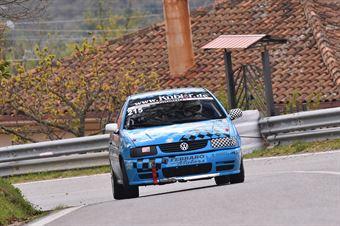 Ivan Ciardullo ( Cosenza Corse, VW Polo # 215), CAMPIONATO ITALIANO VELOCITÀ MONTAGNA