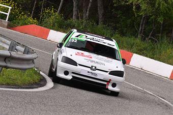 Giulio Molinaro ( Kronoracing, Peugeot 106 R #192), CAMPIONATO ITALIANO VELOCITÀ MONTAGNA