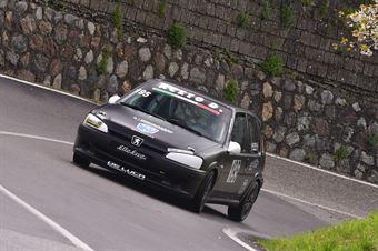 Aceto Danilo (Asd Kronoracing, Peugeot 106 S6 #195), CAMPIONATO ITALIANO VELOCITÀ MONTAGNA
