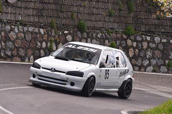 Rosario Alessi (Catania Corse, Peugeot 106 R #85), CAMPIONATO ITALIANO VELOCITÀ MONTAGNA