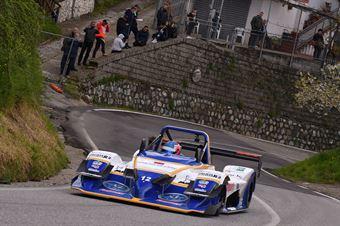 Omar Magliona (CST Sport, Osella PA2000#12), CAMPIONATO ITALIANO VELOCITÀ MONTAGNA