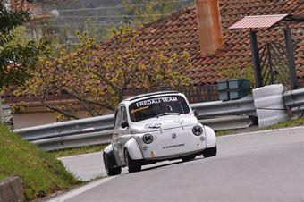 Garritano Giuseppe (Cosenza Corse, Fiat 500 #259), CAMPIONATO ITALIANO VELOCITÀ MONTAGNA