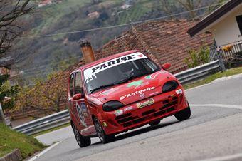 Parise Antonio (Kronoracing, Fiat Seicento Sp #231), CAMPIONATO ITALIANO VELOCITÀ MONTAGNA