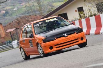 Leonardo Nicoletti ( Kronoracing, Peugeot 106 R #156), CAMPIONATO ITALIANO VELOCITÀ MONTAGNA