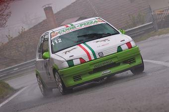 Fabio Crocco (Cosenza Corse, Peugeot 106 #112), CAMPIONATO ITALIANO VELOCITÀ MONTAGNA