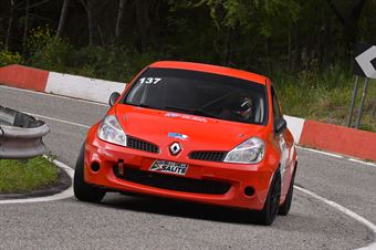 Caruso Mattia (Cosenza Corse, Renault New Clio #137), CAMPIONATO ITALIANO VELOCITÀ MONTAGNA
