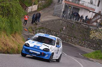 Sandro Belmonte ( Cosenza Corse, Fiat Seicento Sporting # 229), CAMPIONATO ITALIANO VELOCITÀ MONTAGNA