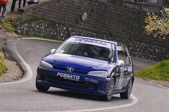 Domenico Calluso ( Piloti per Passione, Peugeot 106 #128), CAMPIONATO ITALIANO VELOCITÀ MONTAGNA