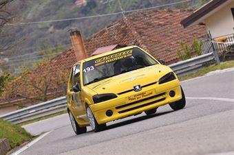 Francesco Ivan Araniti ( Peugeot 106 #193), CAMPIONATO ITALIANO VELOCITÀ MONTAGNA