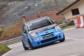 Daniel Molinaro (Cosenza corse, Citroen C2 #206), CAMPIONATO ITALIANO VELOCITÀ MONTAGNA