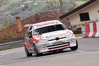 Spadafora Nicola (Kronoracing, Peugeot 106 S16 #154), CAMPIONATO ITALIANO VELOCITÀ MONTAGNA