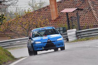 Martino Sisto (Apulia Corse, Renaul Clio Williams #132), CAMPIONATO ITALIANO VELOCITÀ MONTAGNA