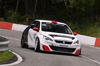 Tagliente Giovanni (SCS Motorsport, Peugeot 308 1.6 Thp #143), CAMPIONATO ITALIANO VELOCITÀ MONTAGNA