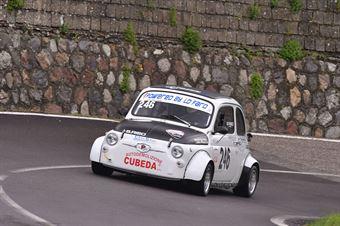 Riso Santo (Cubeda Corse, Fiat 500 #246), CAMPIONATO ITALIANO VELOCITÀ MONTAGNA