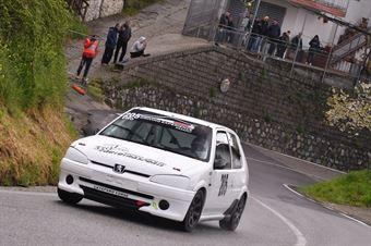 Di Leo Vito (Driving Experience, Peugeot 106 S6 #205), CAMPIONATO ITALIANO VELOCITÀ MONTAGNA
