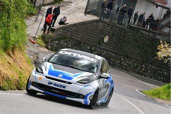 Angelo Cardone (Apulia Corse, Renaul Clio RS #187), CAMPIONATO ITALIANO VELOCITÀ MONTAGNA