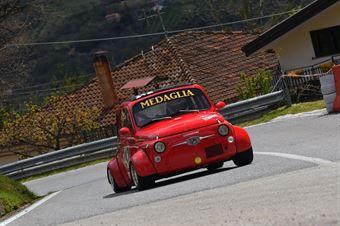 Medaglia Matteo Angelo (Scuderia Vesuvio, Fiat 500 #242), CAMPIONATO ITALIANO VELOCITÀ MONTAGNA