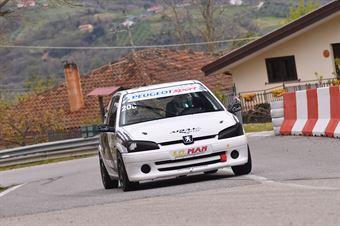 Agrusti Leonardo (Apulia Corse, Peugeot 106 S16 #208), CAMPIONATO ITALIANO VELOCITÀ MONTAGNA