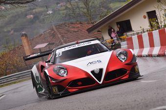 Gramenzi Marco (Alfa Romeo 4c AMG, Scuderia AB Motorsport #23), CAMPIONATO ITALIANO VELOCITÀ MONTAGNA