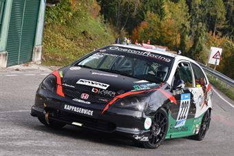 Riccardo Tanzi ( Gaetani Racing, Honda Civic Type R #222), CAMPIONATO ITALIANO VELOCITÀ MONTAGNA