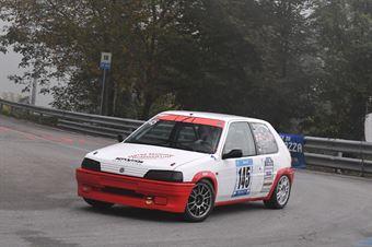 Bommartini Matteo ( Peugeot 106, BL Racing #145), CAMPIONATO ITALIANO VELOCITÀ MONTAGNA