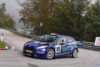 Sandro Casanova (Ford Fiesta R5#105), CAMPIONATO ITALIANO VELOCITÀ MONTAGNA