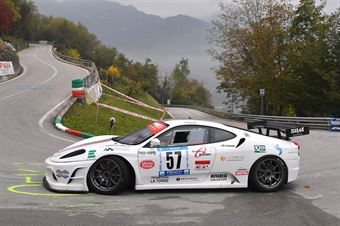 Tommaso Colella ( Global Sport Incentive, Ferrari F430 #57), CAMPIONATO ITALIANO VELOCITÀ MONTAGNA