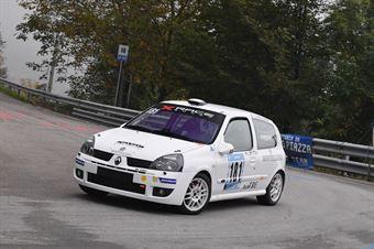 Veronese Mauro (X Race Sport, Renault Clio #181), CAMPIONATO ITALIANO VELOCITÀ MONTAGNA
